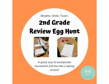 Second Grade Review Egg Hunt