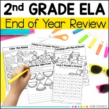 Second Grade Review - Language, Grammar and Writing Practi