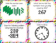Second Grade Math Review Task Cards (set 2 of 5)