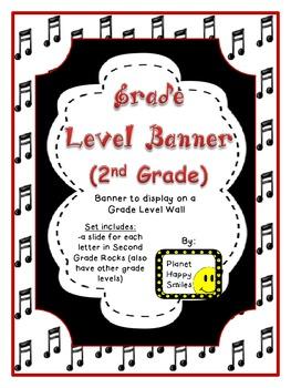 Banner ~ Second Grade Rocks