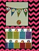 Second Grade Rocks Chevron Pennant Bulletin Board Display
