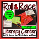Second Grade Roll and Read Editable Sight Word Centers
