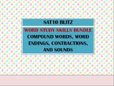 Second Grade SAT10 Prep Word Study BUNDLE - Contractions C