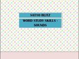 Second Grade SAT10 Test Preparation - Word Study Skills Sounds