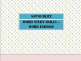 Second Grade SAT10 Test Preparation - Word Study Skills Wo