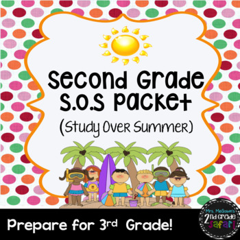 Second Grade S.O.S Packet (Study Over Summer)