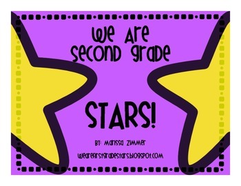 Second Grade STARS Themed Posters and Song
