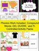 Second Grade SUPER Bundle! ~ Lesson Plans, Phonics Work, G