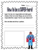 {Second Grade SUPER-heroes!} A Back-to-School Character Education unit