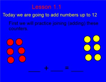 Smart Board Addition Fact Lesson