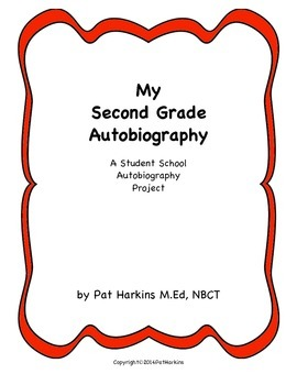 End of Year Second Grade School Autobiography