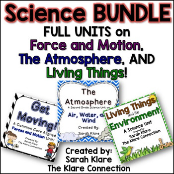 Second Grade Science Bundle!