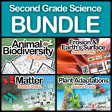 Second Grade Science Bundle (works with distance learning)