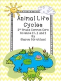 Second Grade Science-Common Core Aligned Life Cycles Unit