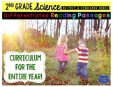 Second Grade Science Differentiated Reading Passages bundle