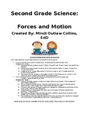 Second Grade Science: Sound Packet (Forces and Motion)