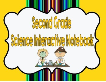 Second Grade Science Interactive Notebook