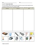 Second Grade Science Quiz- Essential Standard 2.P.2.1 Changes in Matter