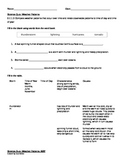 Second Grade Science Quiz- Essential Standards 2.E.1.3 Wea