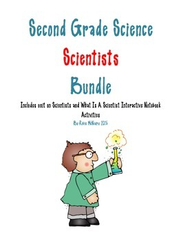 Second Grade Science Scientists Bundle