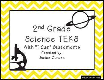 Second Grade Science TEKS