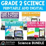 Second Grade Science Unit BUNDLE, Distance Learning