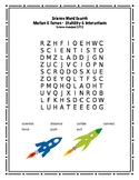 Second Grade Science Word Search-Motion and Force