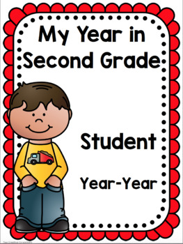 Second Grade Scrapbook / Memory Book: A Fun Year of Learning!