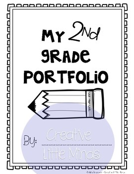 Second Grade Scrapbook Portfolio