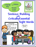 Sight Words for Sentence Building (Second)