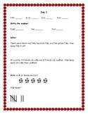 Second Grade September Morning Math Reviews