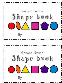 Second Grade Shape Book