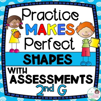 Second Grade Shapes Activities and Assessments