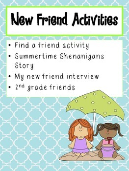 Second Grade Shenanigans: A Beginning of the Year Activity Packet for 2nd Grade