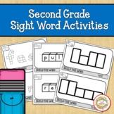Second Grade Sight Word Activities | Fine Motor Skills
