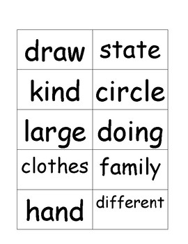 Second Grade Sight Word Flashcards II by Pointer Education | TpT