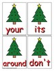 Second Grade Sight Word Game Christmas Edition