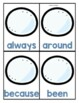 Second Grade Sight Word Game Winter Themed