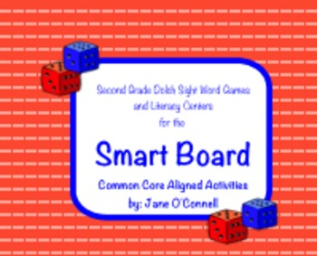 Second Grade Sight Word Games and Activities for the Smart Board