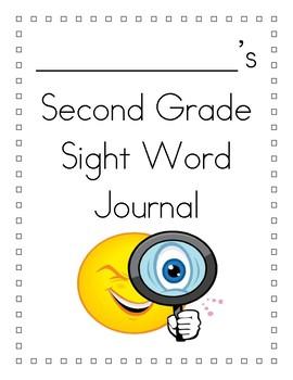 Second Grade Sight Word Journal