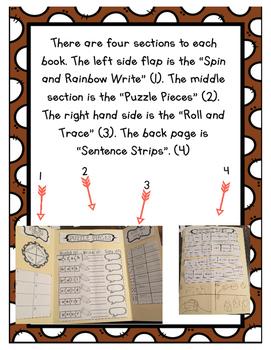 Second Grade Sight Word Lap Book