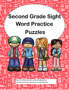 Second Grade Sight Word Practice-Mazes and Word Finds