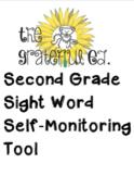 Second Grade Sight Word Self-Monitoring Tool