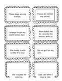 Second Grade Sight Word Sentence Cards