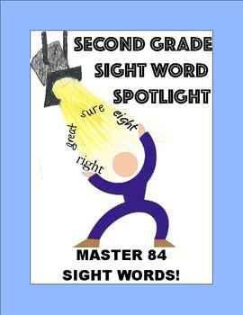 2nd Grade Sight Word Spotlight:  Master 84 Words!