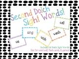 Second Grade Sight Words!