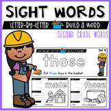 Second Grade Sight Words Activities and Worksheets