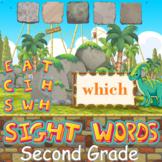 Second Grade Sight Words Digital Task Cards | Boom Cards |