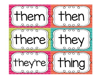 Second Grade Sight Words FREEBIE Summer Pop Collection