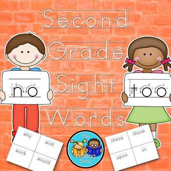 Second Grade Sight Words - Handwriting